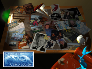 The Case of the Calico Lobster (on CD)