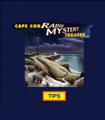 Decorative, showing a Cape Cod Radio Mystery CD cover image