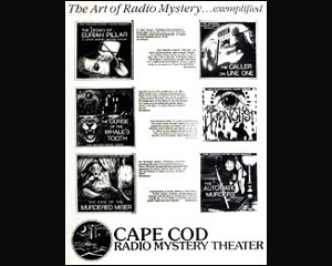 Cape Cod Mysteries Poster (shipped folded)
